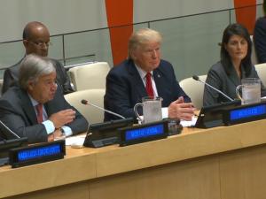 FN's generalsekretær beskriver det internationale finanssystem som 'simpelt hen utilstrækkeligt'