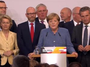 Tyskland har kurs mod en politisk krise efter valget