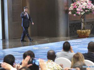 Kinas præsident Xi Jinping: <br>'Skab en BRIKS-Plus fremgangsmåde for samarbejde'