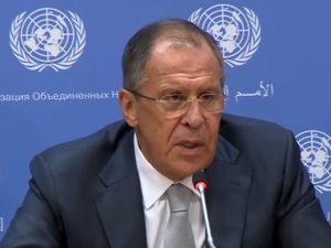 Lavrov angriber arven efter Obama: <br>'Han plantede en mine med forsinket udløsning <br>under de russisk-amerikanske relationer'