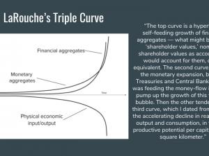 LaRouches videnskab om økonomi er grundlaget for, <br>at USA kan tilslutte sig det historiske Nye Paradigme. <br>LaRouche PAC Videnskabsteams Undervisningsserie 2017 i økonomi. 1. Lektion