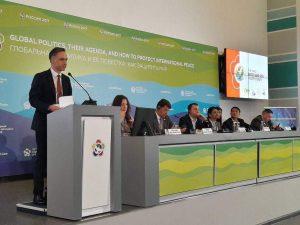 Schiller Instituttet taler på BRIKS- og SCO-begivenhed i Rusland