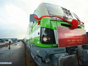 Jernbanefragtrute mellem Finland og Kina åbnet