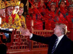 Trump i Kina: <br>'Et gigantisk skridt i den rigtige retning'