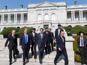 Udsigten til nye økonomiske bånd <br>mellem Kina og USA i en 'Ny Æra' <br>får London-slænget til at gå amok