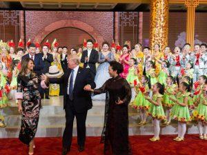 Mission fuldført: Trumps 'venskabsrejse' <br>til Asien er gennemført: <br>Nu skal momentum for en ny æra spredes