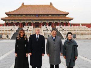 USA høster af Trumps besøg i Kina; <br>Det må også så