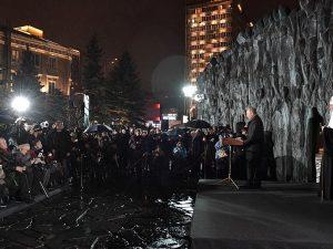 Putin åbner 'Sorgens Mur' for ofre for politisk undertrykkelse i USSR