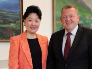 Kinas nye ambassadør i Danmark opfordrer til <br>styrkelse af samarbejde gennem Bælte &#038; Vej Initiativet