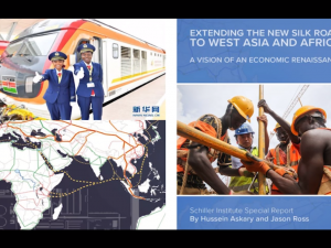 Extending the New Silk Road to Southwest Asia and Africa: <br>A vision of an Economic Renaissance