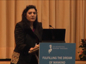 Egypt's 2030 Mega Projects: <br>Investment Opportunities for Intermodal and Multimodal Connectivity. <br>Mrs. Moni Abdulla, Executive Manager <br>of Pyramids International, Cairo. <br>Video; english transcript