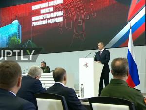 Putin: Russisk forsvar handler ikke kun om militær styrke