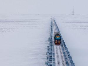 Ruslands Nordlige Breddegående Jernbane vil <br>forcere tempoet for udvikling af arktisk infrastruktur