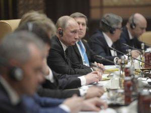 Erdogan og Putin drøfter Syrien og regional <br>destabilisering ud fra USA's beslutning om Jerusalem