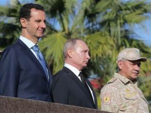 Putin annoncerer russisk militær tilbagetrækning fra Syrien