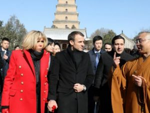 Frankrigs præsident Emmanuel Macrons officielle besøg til Kina: Tale i Xi'an