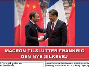 NYHEDSORIENTERING JANUAR 2018: <br>Macron tilslutter Frankrig den Nye Silkevej