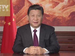 Kinas præsident Xi Jinping leverer Nytårsbudskab