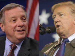 Trump versus Durbin: Hvem er den virkelige <br>hykler, der nærer institutionel racisme? <br>Hvorfor sker det netop nu?