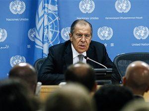 Ruslands udenrigsminister Lavrov: <br>USA vælger en strategisk konfrontationspolitik <br>i stedet for en dialog og bilateralt samarbejde