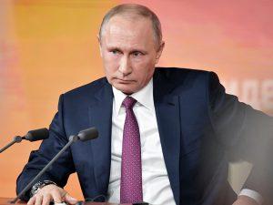 Putin møder russiske medier; <br>Kommer med observationer om Kim Jong-un, <br>Russiagate og Ukraine