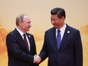 Præsidenterne Putin og Xi udveksler nytårshilsener