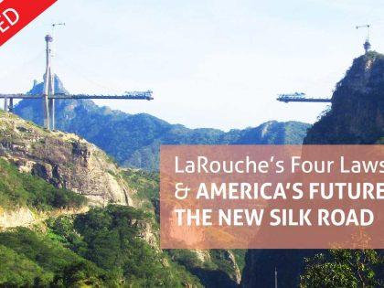 Online-brochure: <br>LaRouches Fire Love &#038; Amerikas fremtid på den Nye Silkevej. <br>Opdateret version