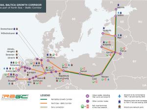 Baltica Jernbanerute vedtaget; forbinder de tre baltiske stater