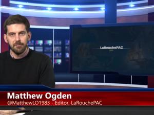 Mere end nogensinde før <br>er det presserende nødvendigt <br>at afslutte geopolitik. <br>LaRouchePAC Internationale Webcast, 16. marts, 2018. <br>Fuldt dansk udskrift