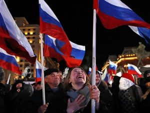 Putin vinder sin fjerde periode; <br>Krim stemmer for første gang til præsidentvalg
