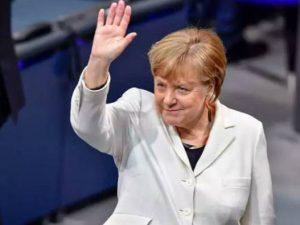 Angela Merkel valgt til kansler for sin fjerde periode