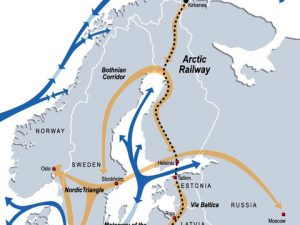 Rapport over forundersøgelser til jernbaneforbindelse <br>til den arktiske korridor næsten klar