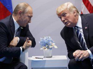 Præsident Trump ringer til Putin for at <br>diskutere strategisk samarbejde og muligt møde