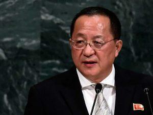Nordkoreas udenrigsminister i Sverige; <br>Spekulationer om Trump-Kim møde