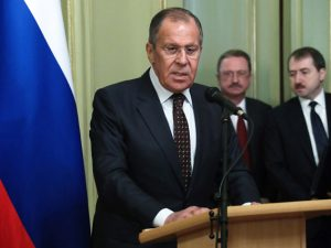Ruslands udenrigsminister Lavrov angriber voldsomt <br>Londons sindssyge svindel med kemiske våben