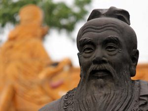 Se online video: <br>»Harmonien mellem konfuciansk og vestlig filosofi«  <br>lørdag, 31. marts kl. 20 dansk tid
