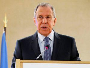 Ruslands udenrigsminister Lavrov angriber strategi for regimeskifte