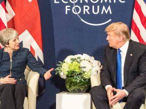 Britisk geopolitisk imperiepolitik kollapser; <br>Theresa May forsøger desperat at kontrollere Trump