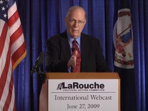 Lyndon LaRouche: Det britiske Imperium er stadig den <br>civiliserede verdens fjende nr. 1