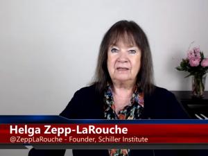 Britiske provokationer under Falsk Flag <br>sætter faren for krig på Rød Alarm. <br>Helga Zepp-LaRouche i Internationalt <br>Strategisk Webcast, 12. april, 2018
