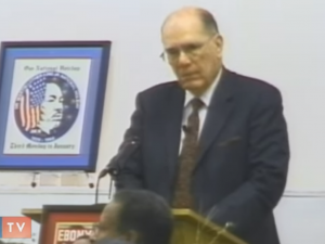 Lyndon LaRouche om betydningen af <br>Martin Luther Kings liv og mission