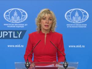 Det Russiske Udenrigsministerium anklager, <br>britiske handlinger i dag fortsætter <br>århundreders folkemord