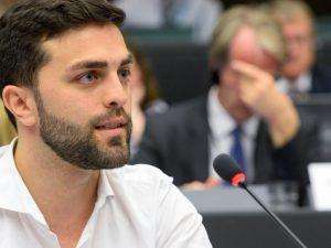 EU's udenrigspolitiske chef Mogherini besvarer <br>EU-parlamentsmedlems forespørgsel om Kiev-regimets <br>undertrykkelse af Vitrenkos PSPU-oppositionsparti