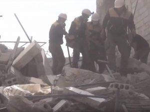 Briterne optrapper med et <br>svindelnummer i Syrien; <br>Denne propaganda kunne <br>føre til verdenskrig