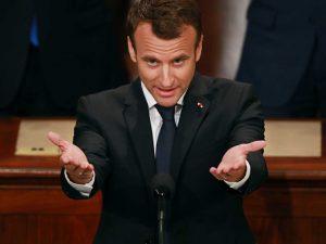Macron udbreder imperienonsens under Kongressens bifaldsbrøl