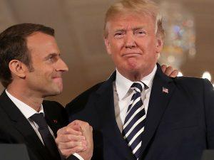 Macron forsøger at sælge Londons »Plan B« i Washington