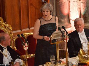 Premierminister Theresa May <br>– Hendes historik for imperieretorik