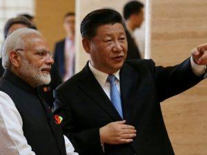 Kinas Xi og Indiens Modi aftaler det første fælles <br>økonomiske projekt for Afghanistan nogensinde
