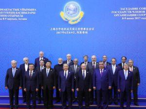 Topmøde i Shanghai Samarbejds- <br>organisation i juni: Storbritanniens <br>truende mareridt