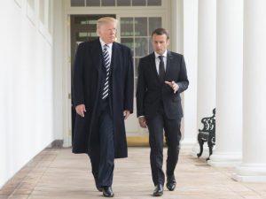 Macron taler på vegne af Imperiet <br>– Hører Trump efter?